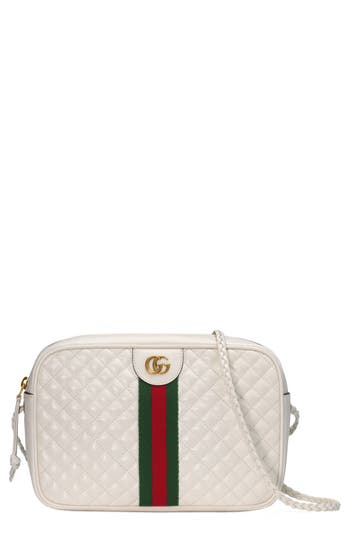 Gucci Small Quilted Leather Camera Bag