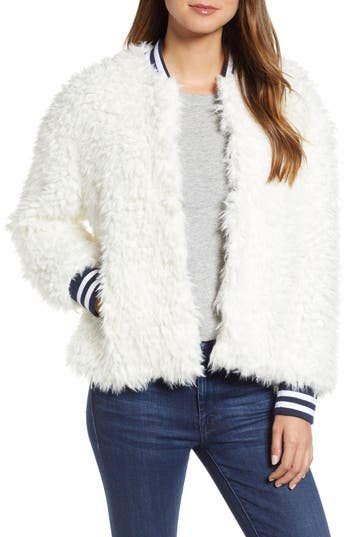 Lou & Grey Chillout Faux Fur Jacket
