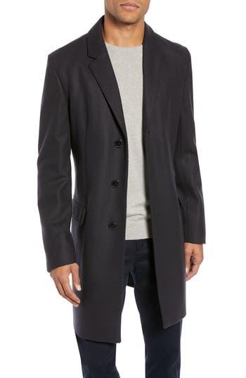 HUGO Migor2 Slim Fit Wool Overcoat