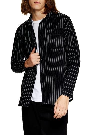 Topman Stripe Woven Shirt