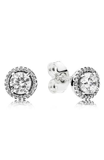 PANDORA Classic Elegance Stud Earrings