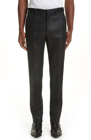 Givenchy Slim Fit Shiny Twill Trousers