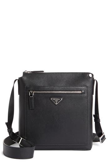 Prada Saffiano Leather Travel Bag
