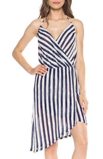 Isabella Rose Ships Ahoy Cover-Up Dress