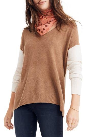 Madewell Kimball Colorblock Sweater