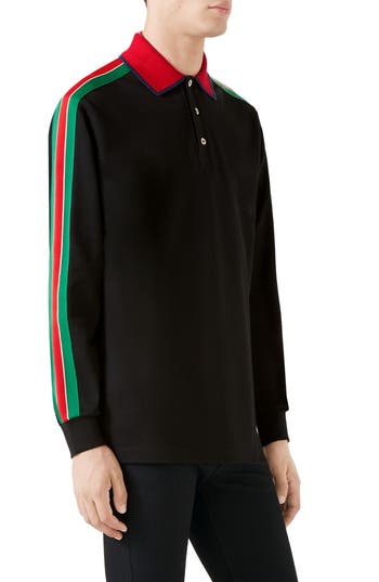 Gucci Long Sleeve Polo