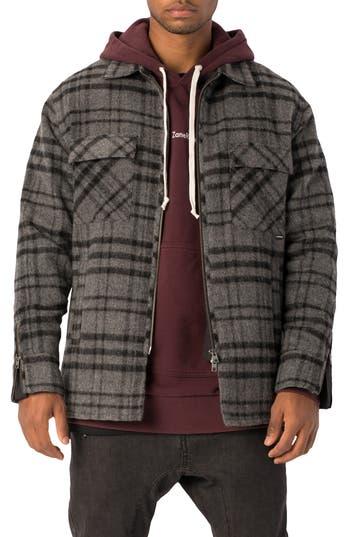 ZANEROBE Rugger Plaid Flannel Shirt Jacket