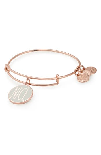 Alex and Ani Words are Powerful - Naughty or Nice Bangle