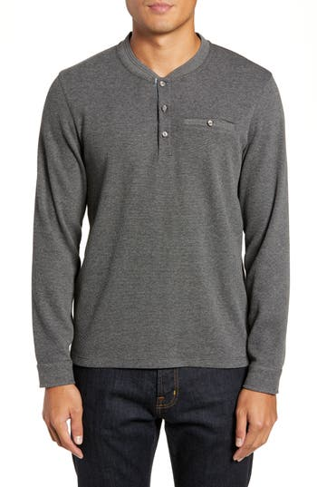 Ted Baker London Slim Fit Mojave Thermal Pocket Henley