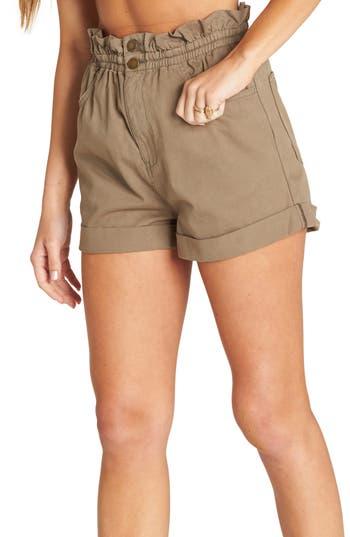 Billabong Sun Dialed Paperbag Waist Shorts