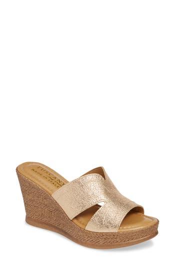 TUSCANY by Easy Street® Marsala Sandal