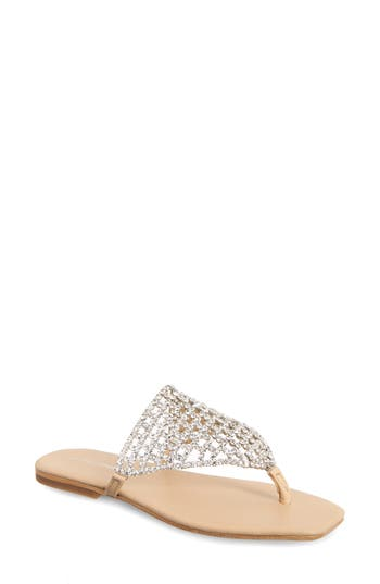 Jeffrey Campbell Abelia Crystal Embellished Sandal