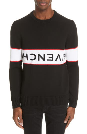 Givenchy Upside Down Logo Sweater