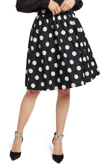 ModCloth Polka Dot Full Skirt