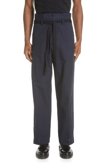 Dries Van Noten Panko Belted Wide Leg Pants