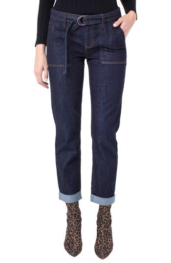 Liverpool Peyton Crop Boyfriend Jeans