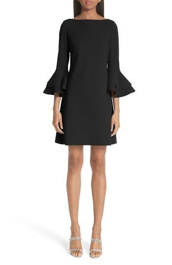 Chiara Boni La Petite Robe Natalia Bell Sleeve Cocktail Dress