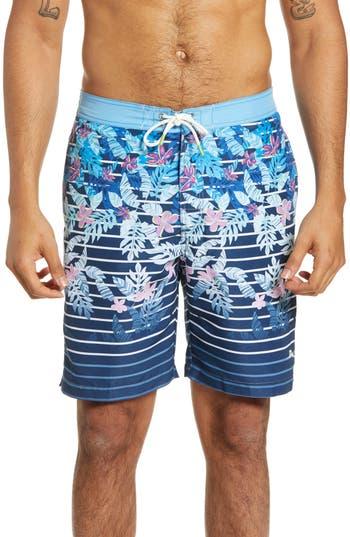 Tommy Bahama Baja Daybreak Fade Print Board Shorts