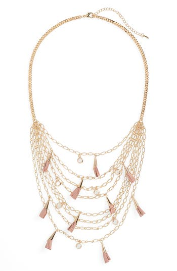 Panacea Multistrand Tassel Necklace