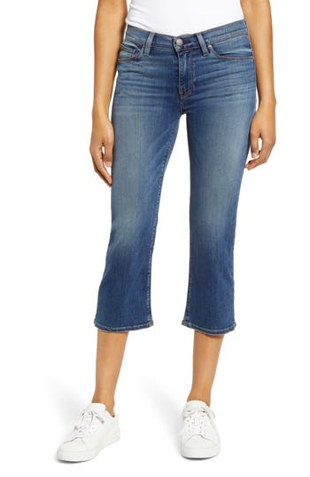 Hudson Jeans Stella Crop Straight Leg Jeans (Into You)