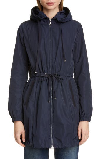 Moncler Topaz Hooded Rain Jacket