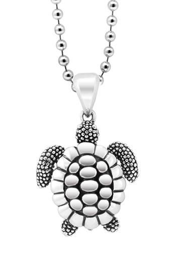 Women's Lagos 'Rare Wonders - Turtle' Long Talisman Necklace