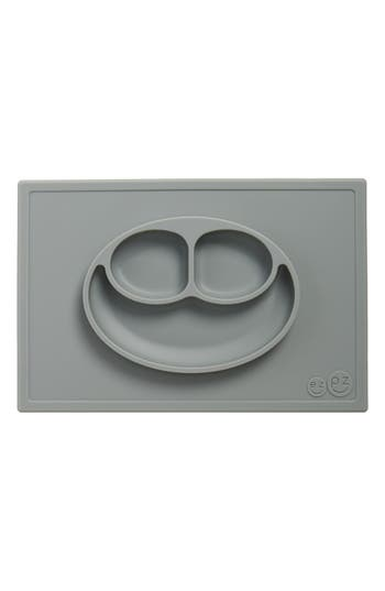 Toddler Ezpz Happy Mat Silicone Feeding Mat Size One Size  Grey