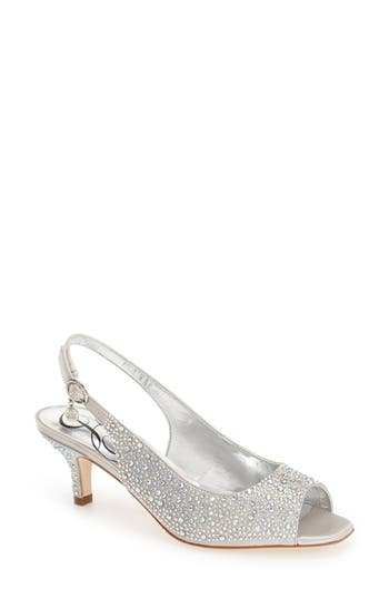 Women's J. Renee 'Impuls' Crystal Embellished Slingback Pump at NORDSTROM.com