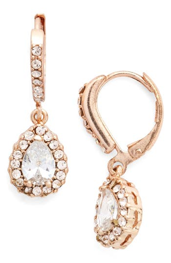 Women's Givenchy Teardrop Crystal Earrings