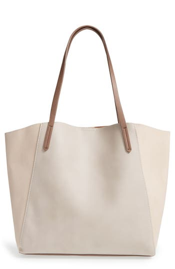 Bp. Colorblock Faux Leather Tote -