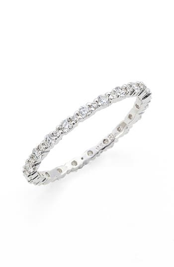 Women's Bony Levy 'Gianna' Diamond Eternity Ring (Nordstrom Exclusive)