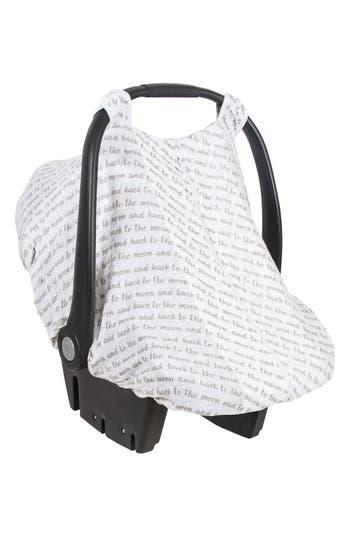 Infant Bebe Au Lait Love Muslin Car Seat Cover