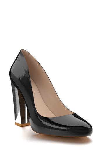 Shoes Of Prey Round Toe Pump