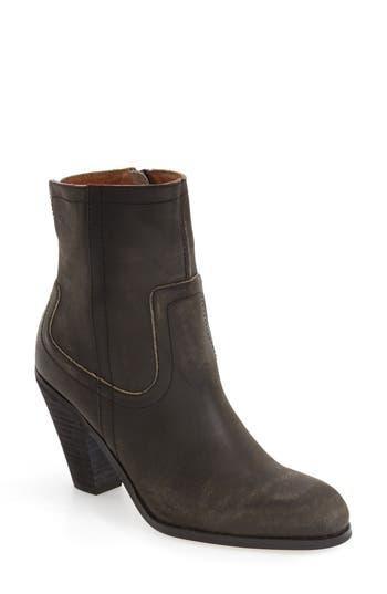 Women's Corso Como 'Harvest' Zip Bootie, Size 6.5 M - Black