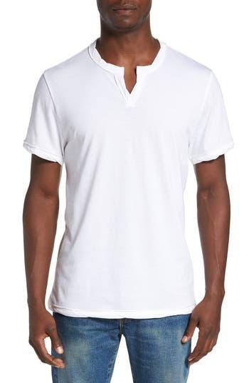 Men's Alternative Notched Neck Organic Cotton T-Shirt