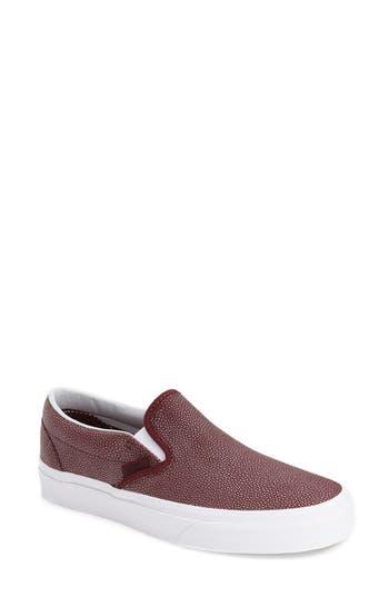 Vans Classic Slip-On Sneaker, Red