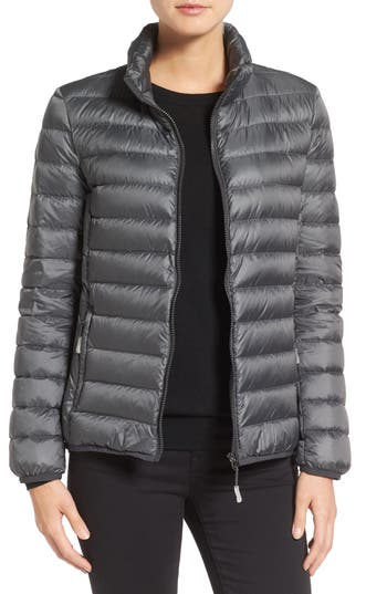 Tumi Pax On The Go Packable Quilted Jacket, Grey