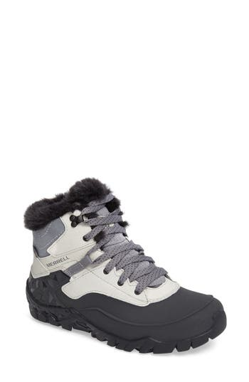 Merrell Aurora 6 Waterproof Faux Fur Lined Boot