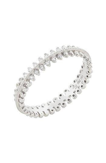 Women's Bony Levy Stackable Three Row Diamond Band Ring