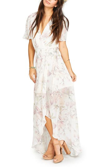 Women's Show Me Your Mumu Sophia Wrap Dress, Size X-Large - Pink
