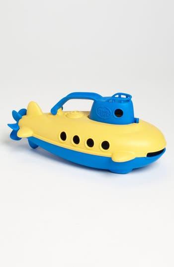 Infant Green Toys Submarine Bath Toy