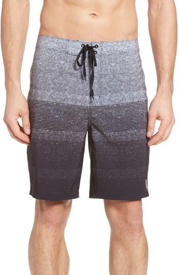 Hurley Phantom Zion Board Shorts, Black
