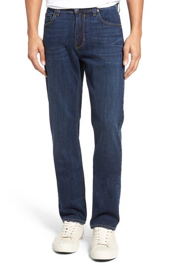 Paige Normandie Straight Leg Jeans, Blue