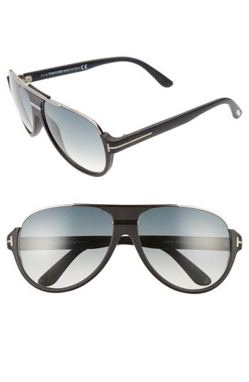 Tom Ford Dimitry 5m Aviator Sunglasses -
