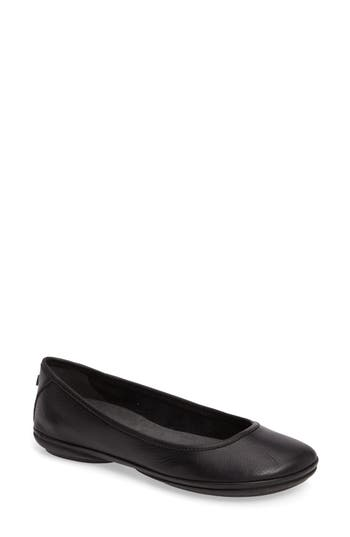 Camper Right Nina Ballet Flat, Black