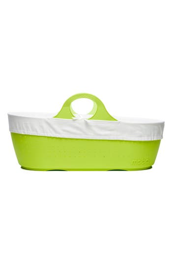 Infant Moba Moses Baby Basket, Size One Size - Green