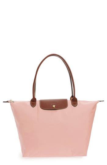 Longchamp 'Large Le Pliage' Tote - Pink