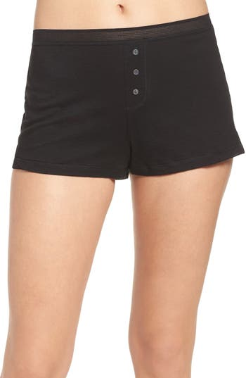 Women's Naked Pima Cotton Sleep Shorts