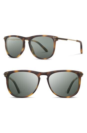 Shwood Keller 5m Sunglasses - Matte Brindle / G15