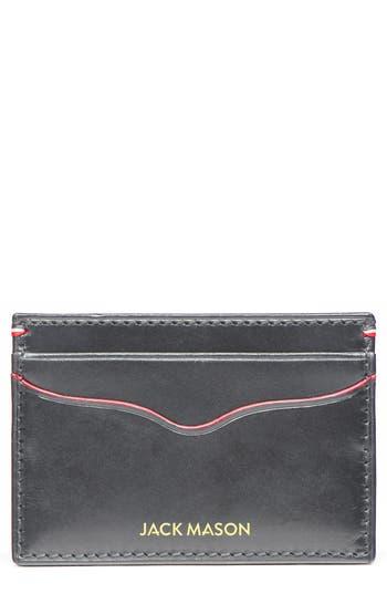 Jack Mason Lux Leather Card Case -